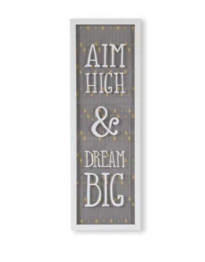 Dekorace na zeď Umbra AIM HIGH & DREAM BIG