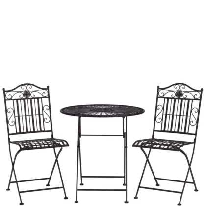 Kovový set židle a stůl Terrace Hill
