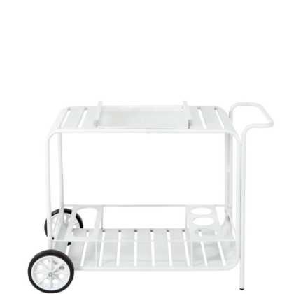 CALYPSO Servírovací vozík – bílá
