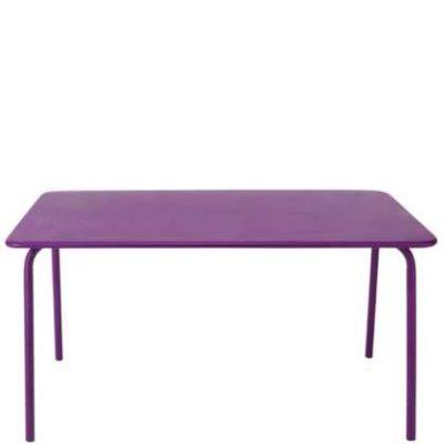 Fialový stůl Calypso