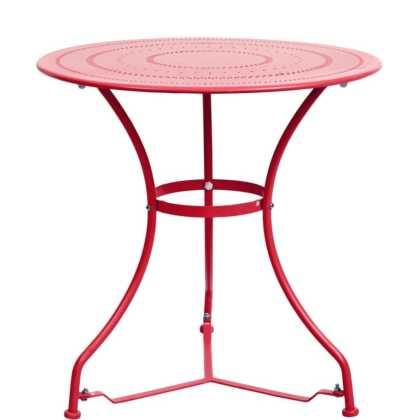 CENTURY Stůl – červená
