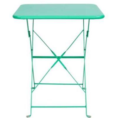 Skládací zahradní stolek Daisy Jane mátová barva