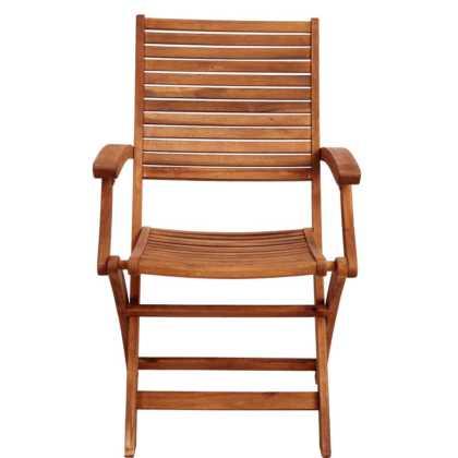 Dřevěná skládací židle s područkami Somerset