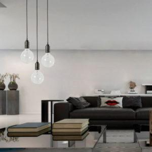 Jednoduché stropní svítidlo SULION
