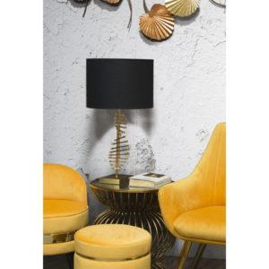 Elegantní stolní lampa Mauro Ferretti černá