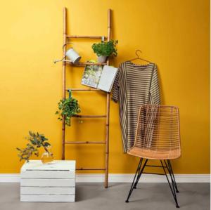Safari bambusový dekorační žebřík