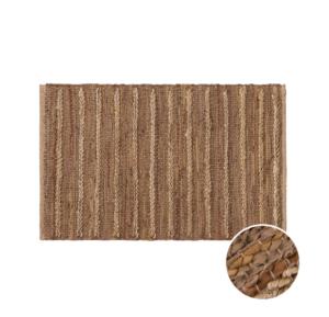 Obdélníkový konopný koberec